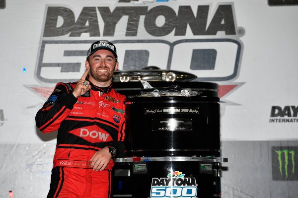 Monster Energy NASCAR Cup Series Daytona 500 Daytona International Speedway, Daytona Beach, FL USA Sunday 18 February 2018 Austin Dillon, Richard Childress Racing, Dow Chevrolet Camaro wins World Copyright: Rusty Jarrett LAT Images