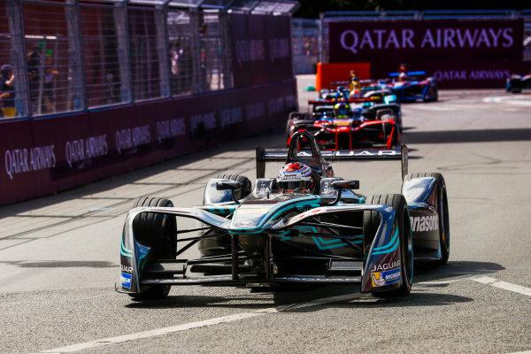 2016/2017 FIA Formula E Championship. Qatar Airways Paris ePrix, France. Saturday 20 May 2017. Adam Carroll (GBR), Jaguar Racing, Spark-Jaguar, Jaguar I-Type 1. Photo: Steven Tee/LAT/FIA Formula E ref: Digital Image _R3I4569