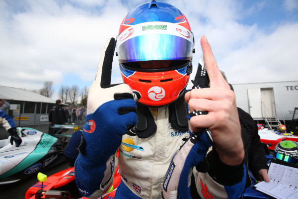 2017 F4 British Championship, Brands Hatch, 1st-2nd April 2017 Ayrton Simmons (GBR / ESP) TRS Arden British F4 World Copyright. JEP/LAT Images