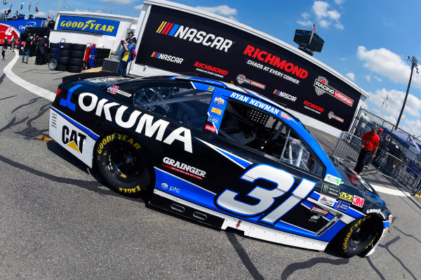 Monster Energy NASCAR Cup Series Toyota Owners 400 Richmond International Raceway, Richmond, VA USA Friday 28 April 2017 Ryan Newman, Richard Childress Racing, Okuma Chevrolet SS World Copyright: Nigel Kinrade LAT Images ref: Digital Image 17RIC1nk00574