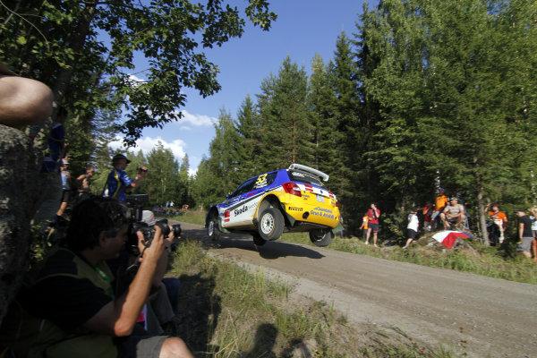 Round 08Rally Finland 29-31 July 2010PG Andersson, Skoda S2000, ActionWorldwide Copyright: McKlein/LAT