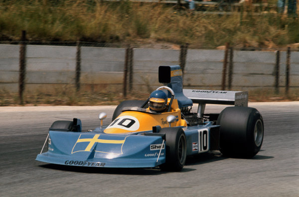 Kyalami, South Africa. 4-6 March 1976. Ronnie Peterson, March 761 Ford. Ref: 76SA09. World Copyright - LAT Photographic