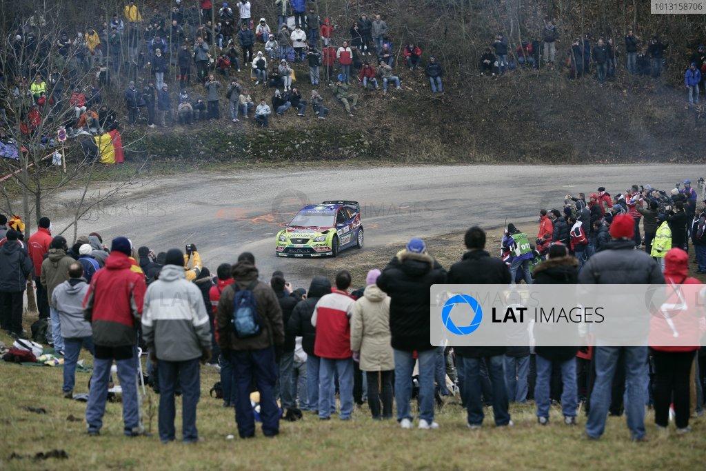 2008 FIA World Rally ChampionshipRound 1Monte Carlo Rally24th - 27th January 2008Mikko Hirvonen, Ford, actionWorldwide Copyright: McKlein/LAT