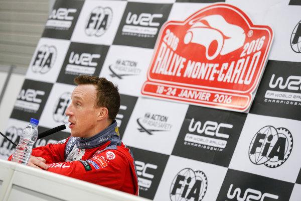 2016 World Rally Championship, Round 01, Rally Monte Carlo, 21st - 24th January, 2016 Kris Meeke, DS, portrait  Worldwide Copyright: McKlein/LAT