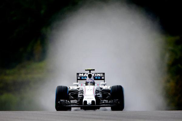 Sepang International Circuit, Sepang, Kuala Lumpur, Malaysia. Saturday 28 March 2015. Valtteri Bottas, Williams FW37 Mercedes. World Copyright: Andrew Hone/LAT Photographic. ref: Digital Image _ONY0296