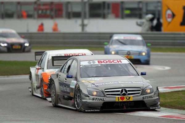 Bruno Spengler (CDN), Mercedes-Benz Bank AMG, Mercedes-Benz Bank AMG C-Klasse (2009).DTM, Rd10, Adria International Raceway, Italy. 29-31 October 2010 World Copyright: LAT Photographicref: dne1031oc144