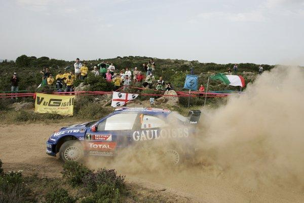 FIA World Rally Championship 2006Round 7Rally of Italy, Sardinia.18th - 21st May 2006.Sebastien Loeb, Citroen, action.