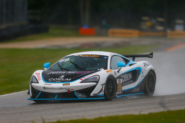 IMSA Continental Tire SportsCar Challenge Road America 120 Road America, Elkhart Lake, WI USA Friday 4 August 2017 69, McLaren, McLaren GT4, GS, Chris Green, Jesse Lazare World Copyright: Jake Galstad LAT Images