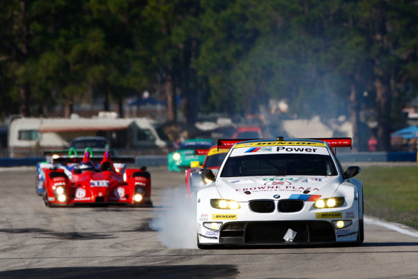 Sebring, Florida, USA. 15th-17th March 2012,Jorg Muller/Bill Auberlen - BMW Team RLL BMW E92 M3World Copyright: Ebrey/LAT Photographic.