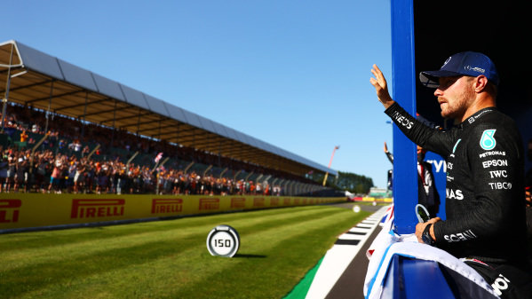 Valtteri Bottas, Mercedes, 3rd position, after the Sprint Qualifying