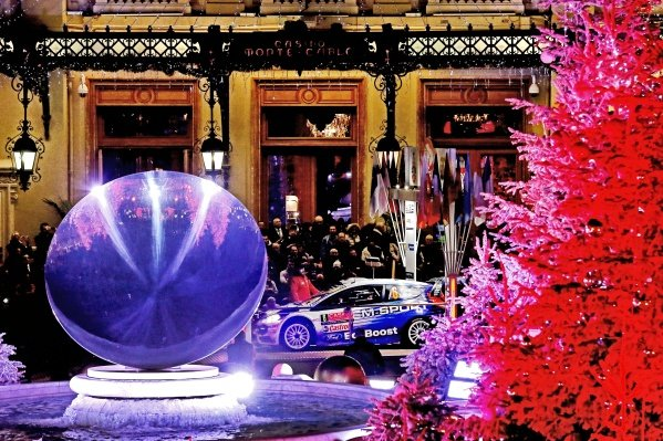www.sutton-images.com -  Ott Tanak (EST) / Raigo Molder (EST) Ford Fiesta RS WRC at the FIA World Rally Championship, Rd1, Rally Monte Carlo, Opening Stages, Monte Carlo, 22 January 2015. Photo Sutton Images