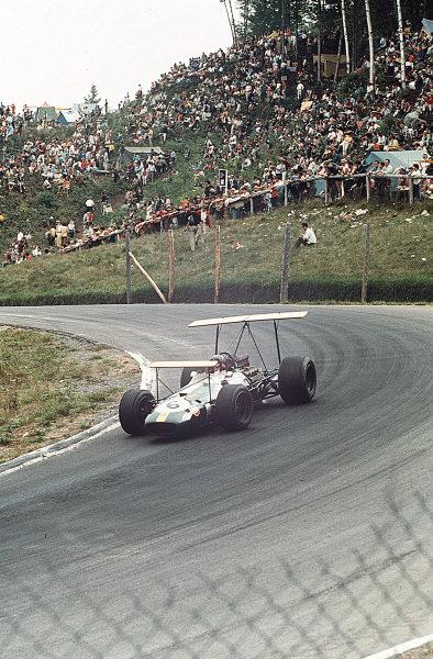 Mont-Tremblant, (St. Jovite), Quebec, Canada.20-22 September 1968.Jochen Rindt (Brabham BT26 Repco).Ref-35mm 68 CAN 70.World Copyright - LAT Photographic