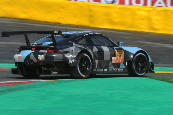 #77 Dempsey Proton Competition Porsche 911 RSR: Julien Andlauer, Matt Campbell