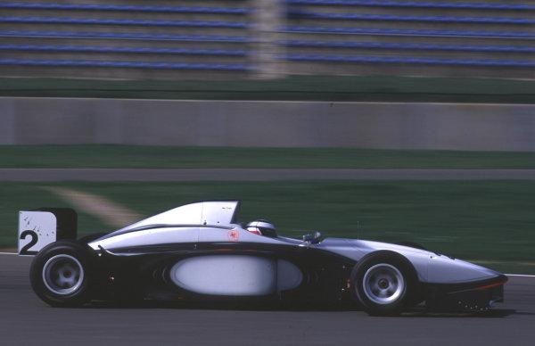 Silverstone, England. 22-23/3/2000. Tomas Enge, Team MySAP.com World Copyright: LAT Photographic.