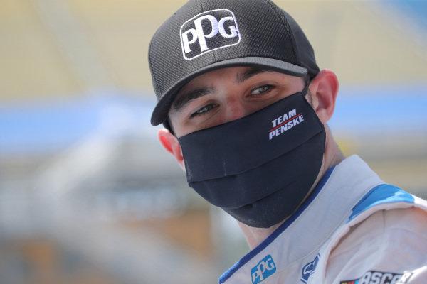 Austin Cindric, Team Penske Ford PPG, Copyright: Chris Graythen/Getty Images.