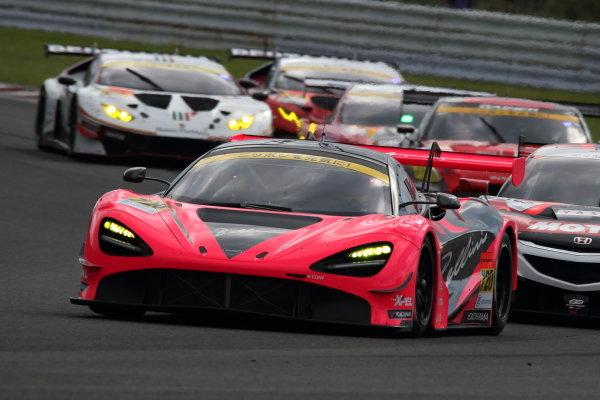 GT300 2nd position Seiji Ara & Alex Palou ( #720 McLaren 720S )