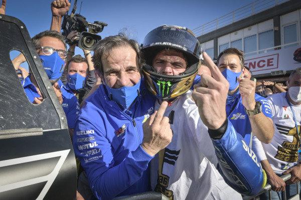 Davide Brivio, Joan Mir, Team Suzuki.