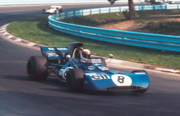1971 United States Grand Prix.Watkins Glen, New York, USA.1-3 October 1971.Jackie Stewart (Tyrrell 003 Ford) 5th position.Ref-71 USA 01.World Copyright - LAT Photographic