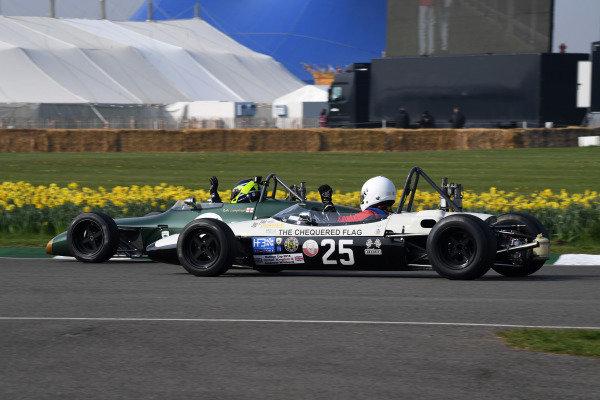 Derek Bell Cup Ben Mitchell Brabham BT28 Andrew Hibberd BT18