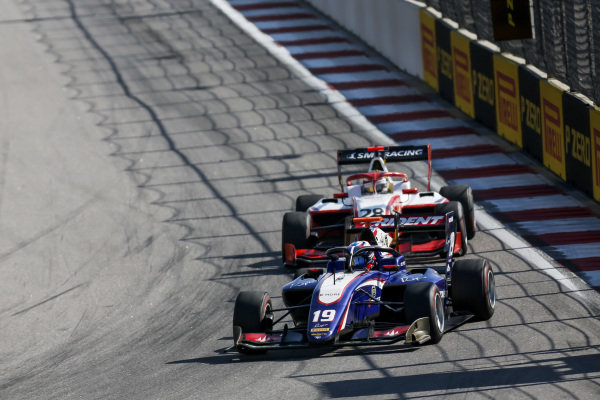 SOCHI AUTODROM, RUSSIAN FEDERATION - SEPTEMBER 29: Niko Kari (FIN, Trident) during the Sochi at Sochi Autodrom on September 29, 2019 in Sochi Autodrom, Russian Federation. (Photo by Joe Portlock / LAT Images / FIA F3 Championship)