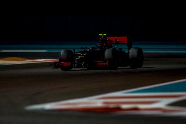 2016 GP2 Series Test 3 Yas Marina Circuit, Abu Dhabi, United Arab Emirates. Friday 2 December 2016. Johnny Cecotto Jr. (VEN, Rapax)  Photo: Zak Mauger/GP2 Series Media Service. ref: Digital Image _L0U4835