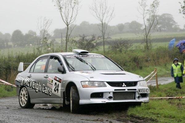 2006 British Rally ChampionshipUlster Rally, Armagh.2nd September 2006Seamus LeonardWorld Copyright - Ebrey/LAT Photographic