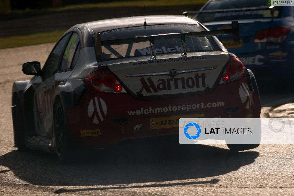 Rockingham, Northamptonshire. 17th - 18th September 2011.Daniel Welch (GBR) Welch Motorsport Proton Gen 2.World Copyright: Ebrey/LAT Photographic.