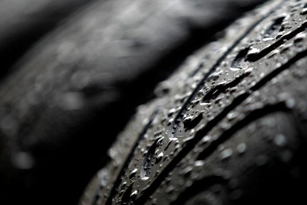 Interlagos, Sao Paulo, Brazil. Friday 22nd November 2013.  Pirelli intermediate tyres. World Copyright: Andy Hone/LAT Photographic. ref: Digital Image _ONY8624