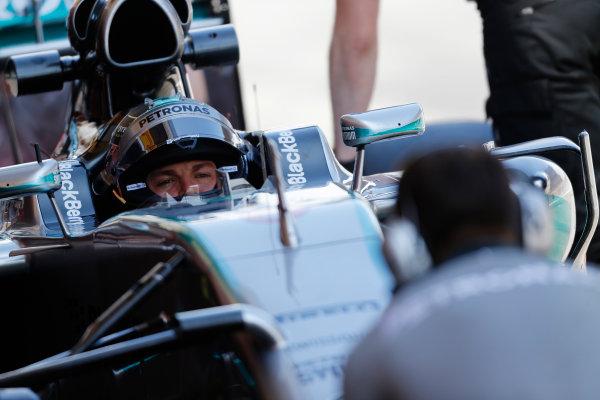Circuit de Catalunya, Barcelona, Spain. Wednesday 14 May 2014. Nico Rosberg, Mercedes AMG. World Copyright: Sam Bloxham/LAT Photographic. ref: Digital Image _SBL0437