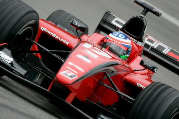 2005 GP2 Series - GermanyHockenheimring, Hockenheim22th - 24th July 2005Friday PracticeGianmaria Bruni (I, Coloni Motorsport). Action. World Copyright: GP2 Series Media Service ref: Digital Image Only