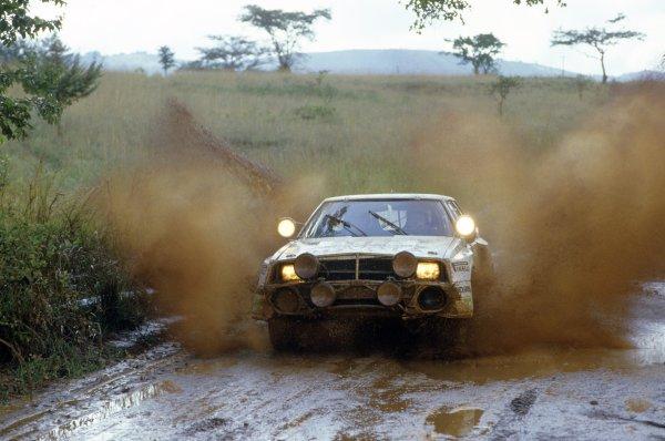 1986 World Rally Championship.Safari Rally, Kenya. 29 March -2 April 1986.Toyota Celica turbo.World Copyright: LAT PhotographicRef: 35mm transparency 86RALLY16