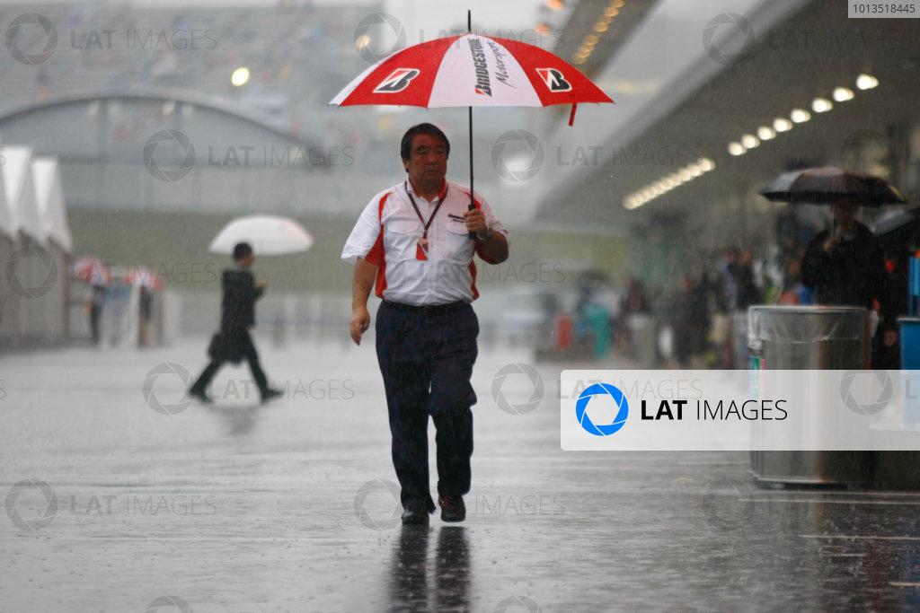 Suzuka Circuit, Suzuka, Japan.9th October 2010.Hiroshi Yasukawa, Director, Bridgestone Motorsport. Portrait. World Copyright:Charles Coates/LAT Photographicref: Digital Image _26Y8397