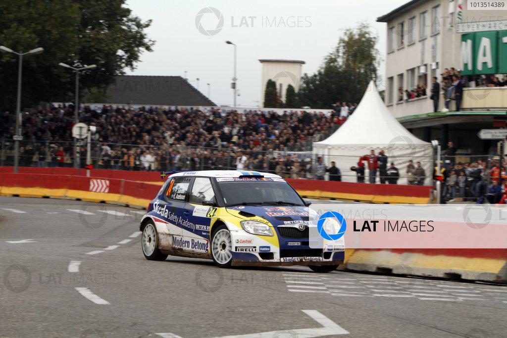 Round 11Rally de France 30/9-3/10Patrik Sandell, Skoda SWRC, Action.Worldwide Copyright: McKlein/LAT