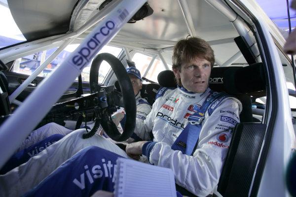 Round 04Rally Portugal 2- 5 of April 2009Marcus Gronholm, Subaru WRC, PortraitWorldwide Copyright: McKlein/LAT
