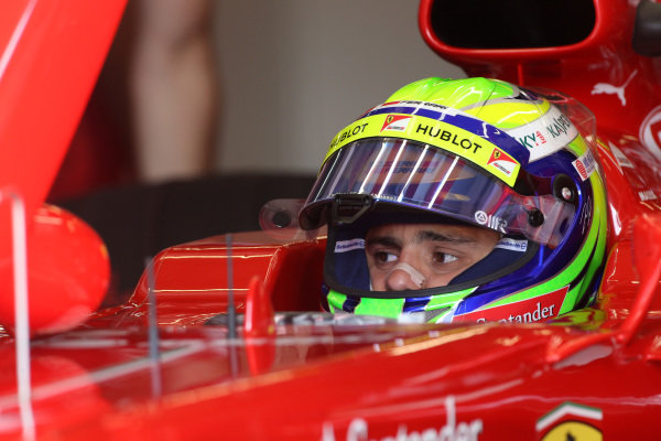 Felipe Massa (BRA) Ferrari F138. Formula One World Championship, Rd9, German Grand Prix, Qualifying, Nurburgring, Germany, Saturday 6 July 2013.