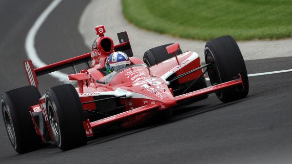 15-21 MAY, 2010, Indianapolis, Indiana, USA#10 Target Chip Ganassi Racing's Dario Franchitti.©Dan R. Boyd, USA LAT Photographic