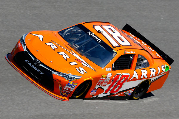 20-21 February, 2015, Daytona Beach, Florida USA Daniel Suarez, Arris Toyota Camry ?2015, Russell LaBounty LAT Photo USA