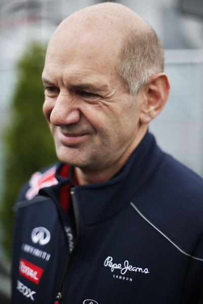 8th June 2013 Adrian Newey, Chief Technical Officer, Red Bull Racing World Copyright: Charles Coates/  ref: Digital Image _N7T5989