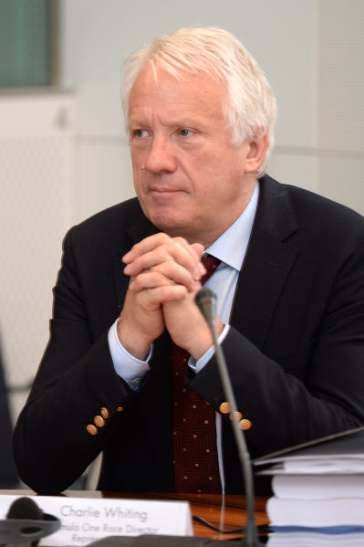 FIA Headquarters, Paris, France 20th June 2013 Charlie Whiting, F1 Race Director, FIA World Copyright: DPPI/  ref: Digital Image _JC17385