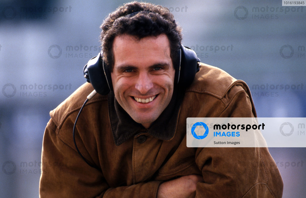 Roland Ratzenberger (AUT) Simtek. Formula One Testing, Imola, Italy, 7-11 March 1994.