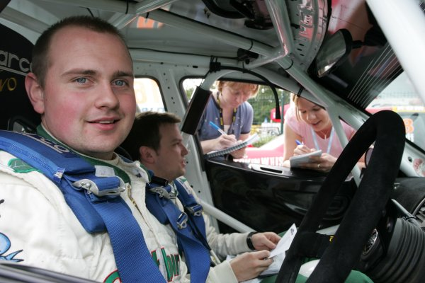 2007 British Rally Championship,Ulster Rally, Northern Ireland,31st August/1st September 2007,Wyn HumphreysWorld Copyright: Ebrey/LAT Photographic