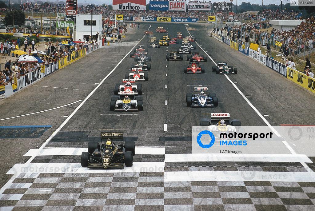 1986 French Grand Prix.