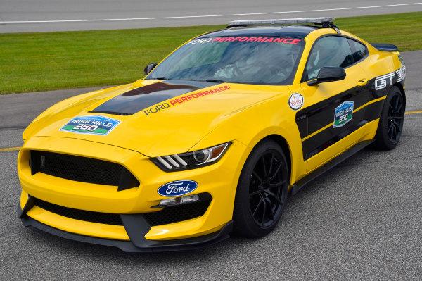 NASCAR XFINITY Series Irish Hills 250 Michigan International Speedway, Brooklyn, MI USA Saturday 17 June 2017 Ford Mustang GT 350 Pace Car World Copyright: Nigel Kinrade LAT Images