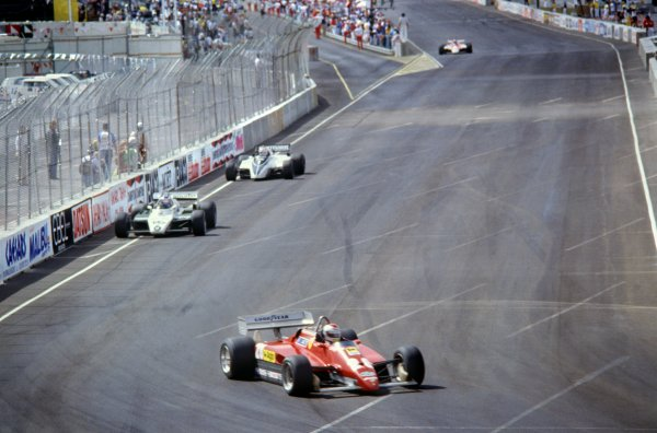 1982 Las Vegas Grand Prix.