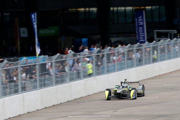 2014/2015 FIA Formula E Championship. Berlin ePrix, Berlin Tempelhof Airport, Germany. Saturday 23 May 2015 Charles Pic (FRA)/China Racing - Spark-Renault SRT_01E. Photo: Andrew Ferraro/LAT/Formula E ref: Digital Image _FER0612