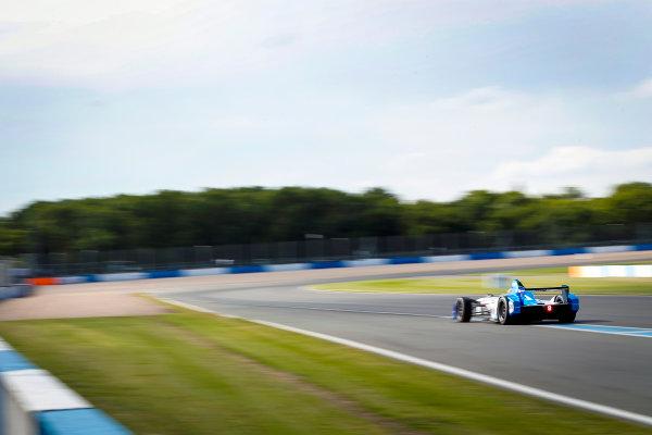 FIA Formula E Season 3 Testing - Day Two. Donington Park Racecourse, Derby, United Kingdom. Antonio Felix da Costa, MS Amlin Andretti. Wednesday 24 August 2016. Photo: Adam Warner / LAT / FE. ref: Digital Image _L5R0651