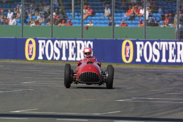 2001 British Grand Prix - Sunday / RaceSilverstone, England. 15th July 2001World Copyright - LAT Photographicref: 8 9 MB Digital File only