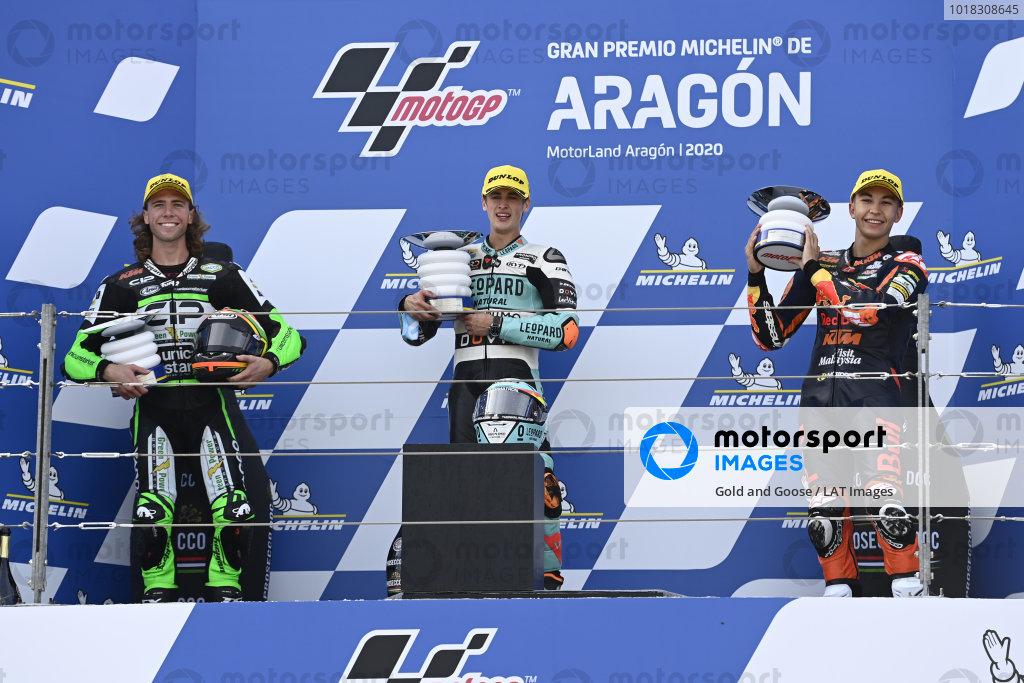 Darryn Binder, CIP Green Power, Jaume Masia, Leopard Racing, Raul Fernandez, Red Bull KTM Ajo.