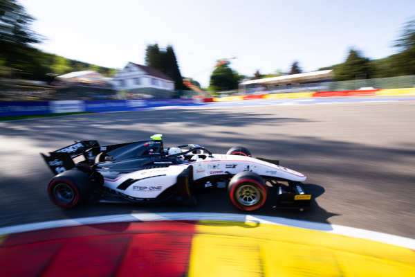 SPA-FRANCORCHAMPS, BELGIUM - AUGUST 30: Juan Manuel Correa (USA, SAUBER JUNIOR TEAM BY CHAROUZ) during the Spa-Francorchamps at Spa-Francorchamps on August 30, 2019 in Spa-Francorchamps, Belgium. (Photo by Joe Portlock / LAT Images / FIA F2 Championship)