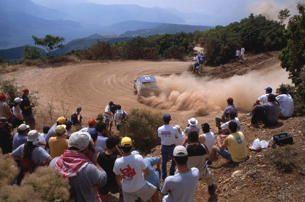 2002 World Rally ChampionshipAcropolis Rally, Greece. 13th - 16th June 2002.Marko Martin/Michael Park, Ford Focus RS WRC02, action.World Copyright: McKlein/LAT Photographicref: 35mm Image A01